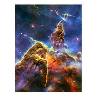 Nebulosa de Carina (telescopio de Hubble) Tarjeta Postal