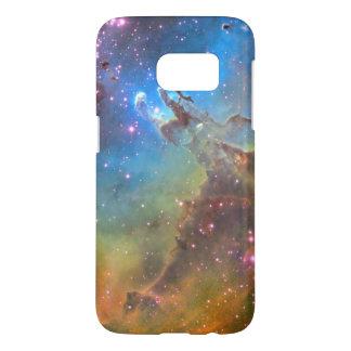 Nebulosa de Eagle del telescopio espacial de Fundas Samsung Galaxy S7