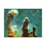 Nebulosa de Eagle en espacio Lona Envuelta Para Galerias