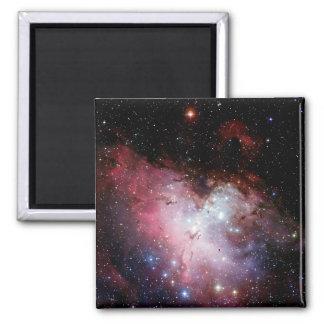 Nebulosa de Eagle (espacio exterior) ~.jpg Imán Cuadrado
