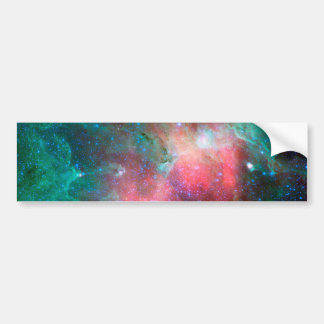 Nebulosa de Eagle (infrarroja) Pegatina De Parachoque