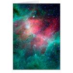 Nebulosa de Eagle (infrarroja) Tarjeta