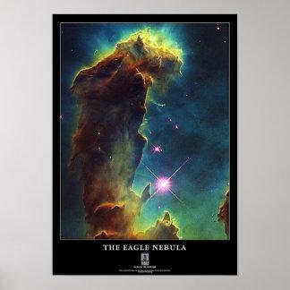 Nebulosa de Eagle Poster