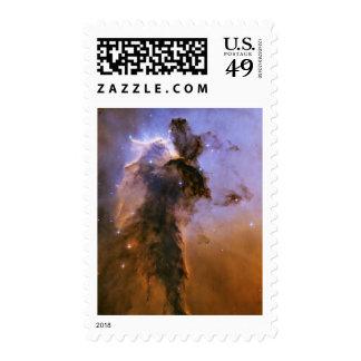 Nebulosa de Eagle por el telescopio espacial de Sello Postal