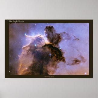 Nebulosa de Eagle Póster