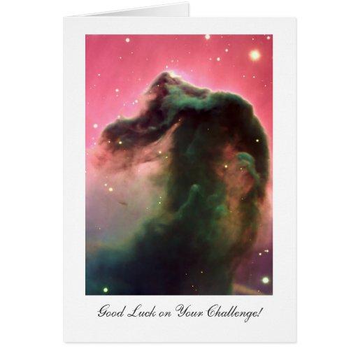 Nebulosa de Horsehead - buena suerte en su desafío Tarjeta