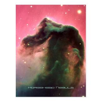 Nebulosa de Horsehead - imágenes impresionantes Tarjetas Postales
