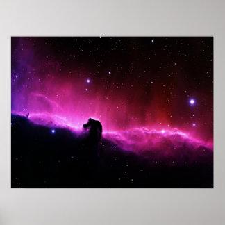 Nebulosa de Horsehead Poster