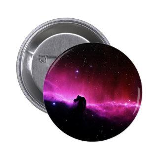 Nebulosa de Horsehead Pin Redondo De 2 Pulgadas