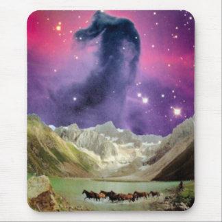 Nebulosa de Horsehead sobre caballos corrientes Alfombrilla De Ratones