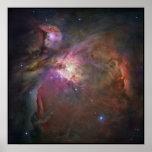 Nebulosa de Hubble Orión Poster
