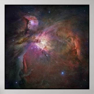 Nebulosa de Hubble Orión Póster