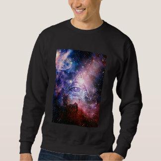 Nebulosa de Illuminati Sudadera Con Capucha