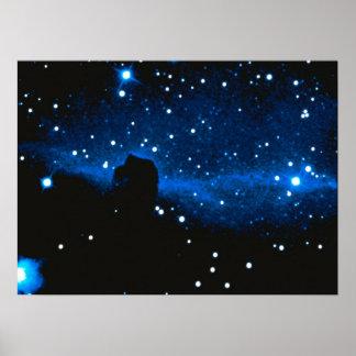 Nebulosa de la Caballo-Cabeza Póster