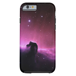 Nebulosa de la cabeza de caballo funda para iPhone 6 tough