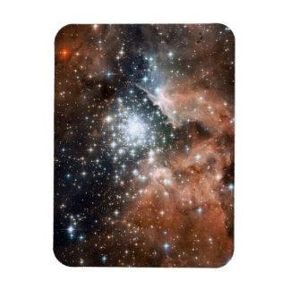 Nebulosa de la emisión de Ngc 3603 Imanes De Vinilo