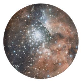 Nebulosa de la emisión de Ngc 3603 Platos