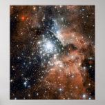 Nebulosa de la emisión de Ngc 3603 Posters