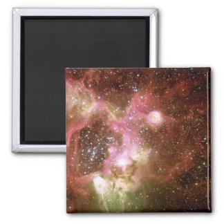 Nebulosa de la emisión N44 Imán Cuadrado