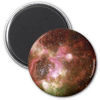 Nebulosa de la emisión N44 Imán Redondo 5 Cm