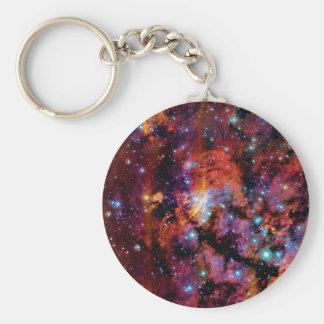 Nebulosa de la gamba de IC 4628 Llavero Redondo Tipo Pin