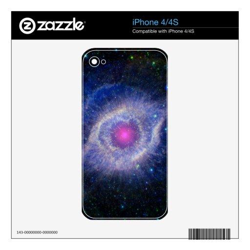 Nebulosa de la hélice calcomanías para iPhone 4S