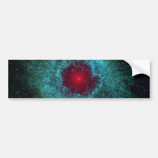 Nebulosa de la hélice de NASAs Pegatina De Parachoque