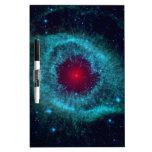 Nebulosa de la hélice de NASAs Pizarras Blancas