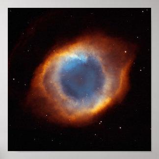 Nebulosa de la hélice: El ojo de dios Poster