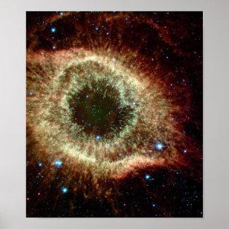 Nebulosa de la hélice en infrarrojo impresiones