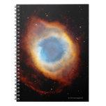 Nebulosa de la hélice libro de apuntes con espiral
