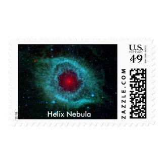 Nebulosa de la hélice, nebulosa de la hélice franqueo