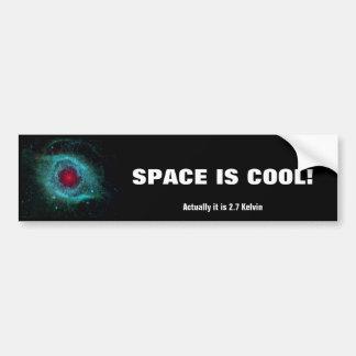 Nebulosa de la hélice - nuestro futuro en 5 mil mi etiqueta de parachoque