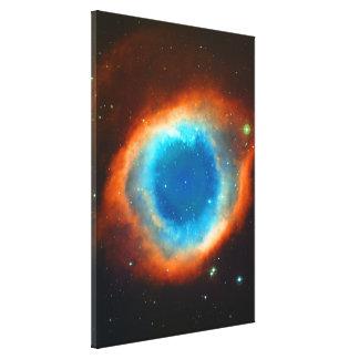 Nebulosa de la hélice, ojo de dios impresión en lienzo estirada