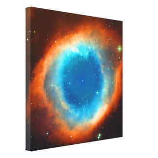 Nebulosa de la hélice, ojo de dios lona estirada galerias