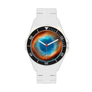 Nebulosa de la hélice, ojo de la imagen del relojes de pulsera