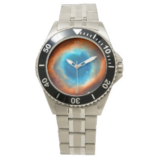 Nebulosa de la hélice, ojo de la imagen del reloj de mano