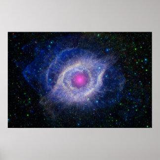 Nebulosa de la hélice posters
