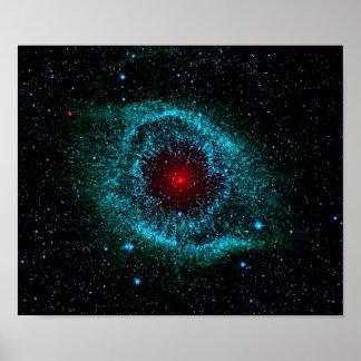 Nebulosa de la hélice poster
