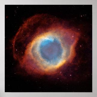 Nebulosa de la hélice impresiones