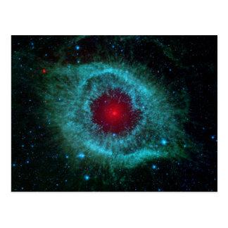Nebulosa de la hélice tarjeta postal