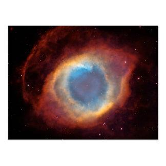 Nebulosa de la hélice tarjetas postales