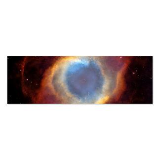 Nebulosa de la hélice (telescopio de Hubble) Plantillas De Tarjetas De Visita