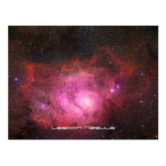 Nebulosa de la laguna - nuestro universo postal
