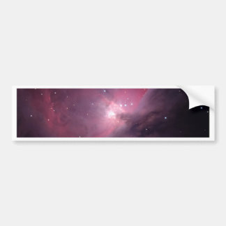 Nebulosa de la llama etiqueta de parachoque