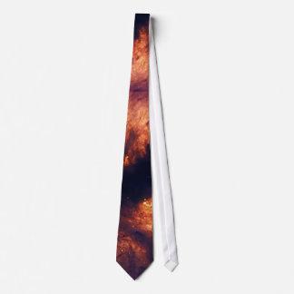 Nebulosa de la llama corbata personalizada