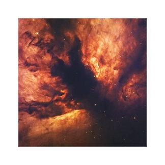 Nebulosa de la llama impresiones en lienzo estiradas