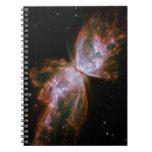 Nebulosa de la mariposa cuaderno
