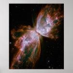 Nebulosa de la mariposa poster