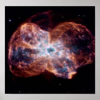 Nebulosa de la pajarita impresiones